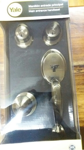 cerradura principal yale original garantizada