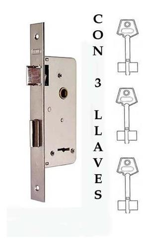 cerradura prive 200 compatible trabex 6624 con 3 llaves