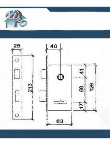 cerradura prive 208 3 llaves compatible trabex 1025, kallay 4006 giaco 1125, consulte por copias a precios promocionales