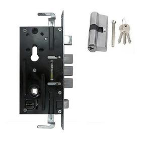 Cerradura Seguridad 60 Mm Embutir Tipo Multilock + Cilindro