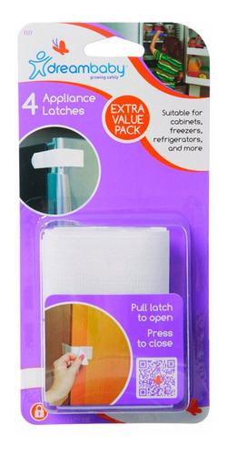 cerraduras con cierre adhesivos x4 pack