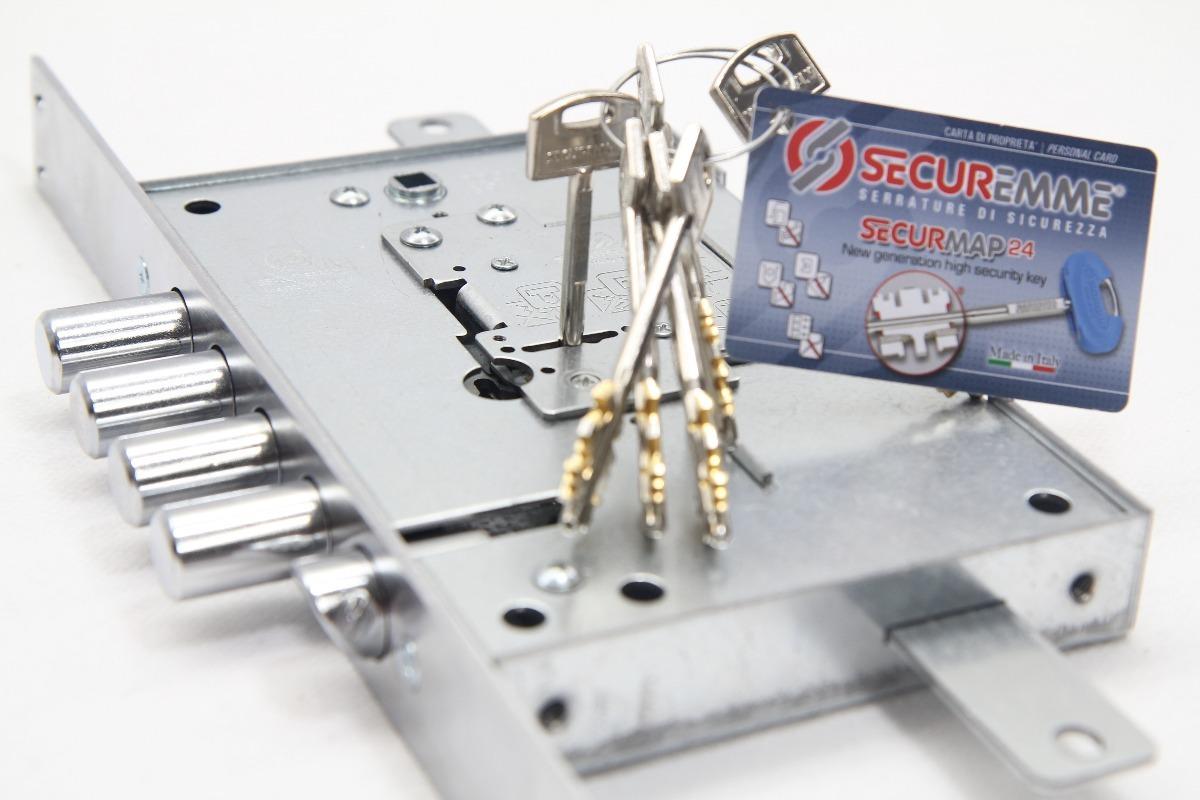 Cerraduras de seguridad securemme modelo 2503 bs 399 for Cerraduras de seguridad para puertas