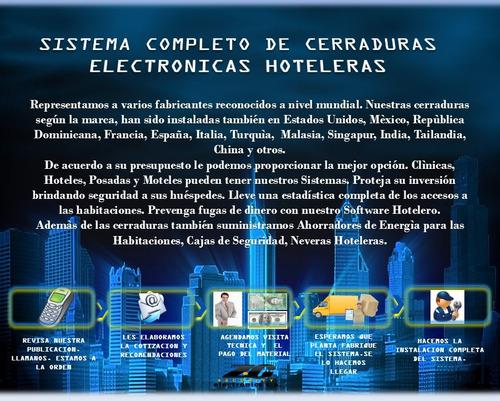 cerraduras electrónicas para hotel. sistema completo!