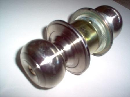 cerraduras p/puertas tipo pomo redonda y plana