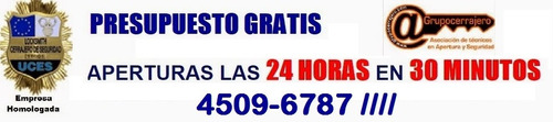 cerrajeria 24 horas 15-5044-4906 a domicilio autos - casas