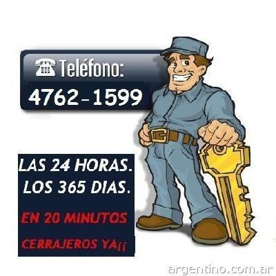cerrajeria 24 horas 15-5044-4906 autos - casas a domicilio