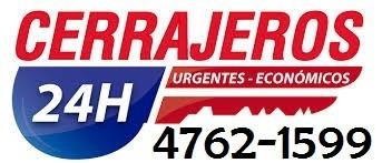 cerrajeria 24 hs 4762-1978 caba y gba urgencias a domicilio