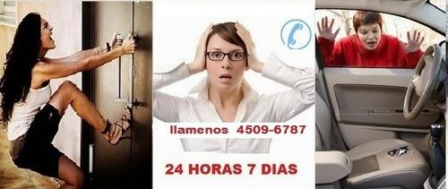 cerrajeria a domicilio 24 horas 15-5044-4906 autos - casas