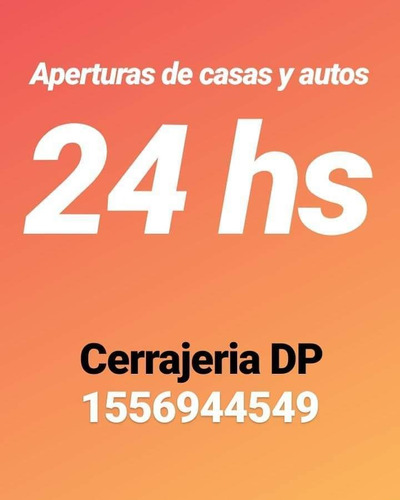 cerrajeria cerrajero urgencias las 24hs llame al 1156944549