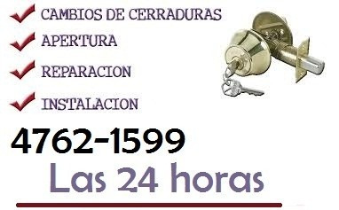 cerrajero a domicilio servicio blindex 24 hs 15-5044-4906