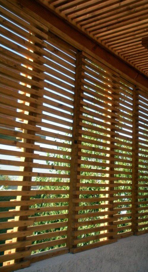 Cerramiento cerca madera paredes corta viento oculta rejas en mercado libre - Madera en paredes ...