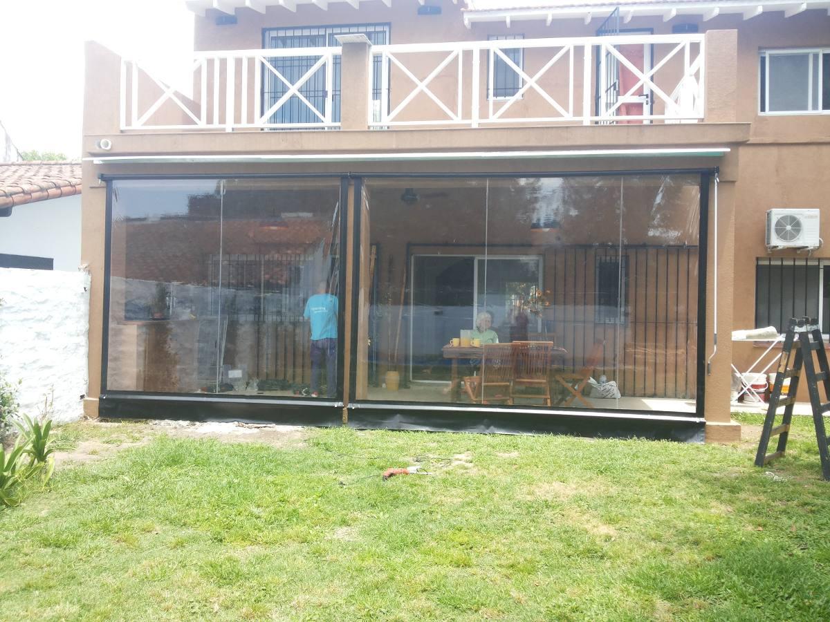 Cerramiento de pvc cristal toldos de lona para galerias 750 - Toldos para balcones precios ...