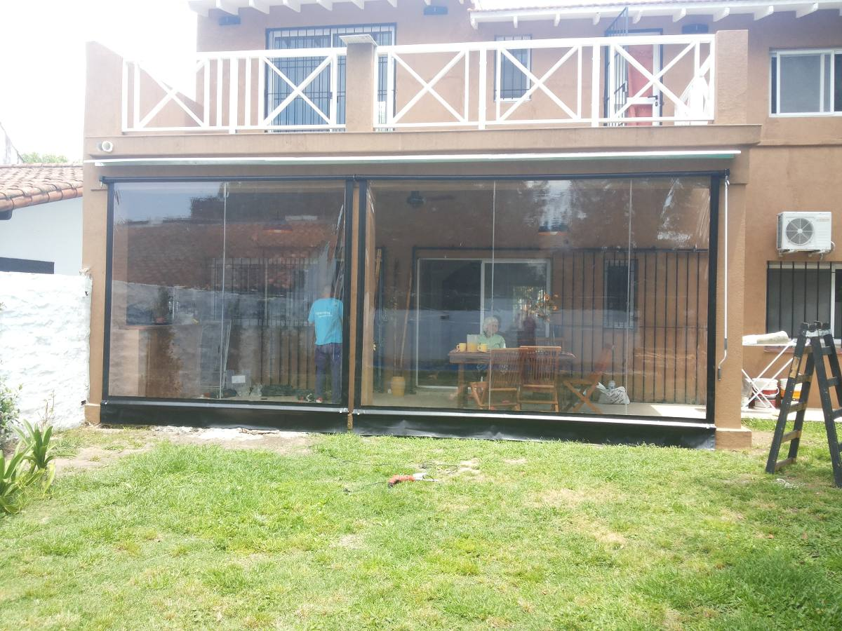 Toldos para patios exteriores excellent toldos para for Toldos para galerias