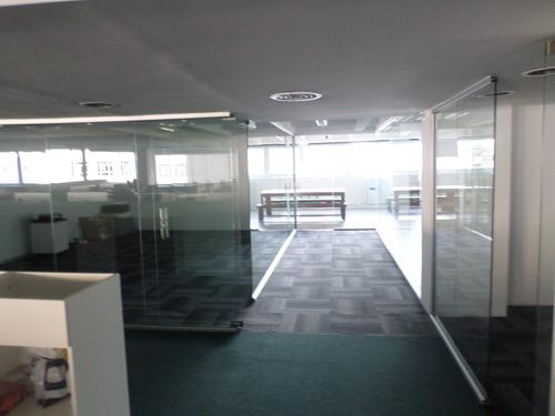 cerramiento de oficina,vidrio, templado, laminado. glasseado