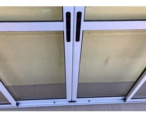 cerramiento quincho aluminio modena 3x2 vidrio laminado 3+3