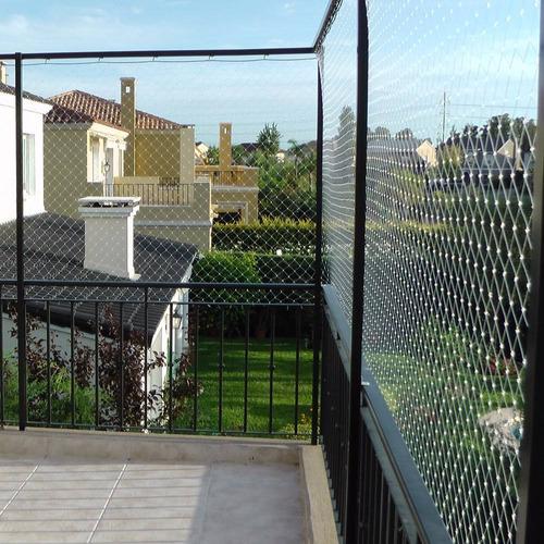 cerramiento red proteccion terraza baranda niño bebe gato