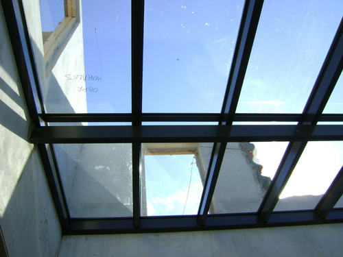 cerramiento vidriado plegable templado