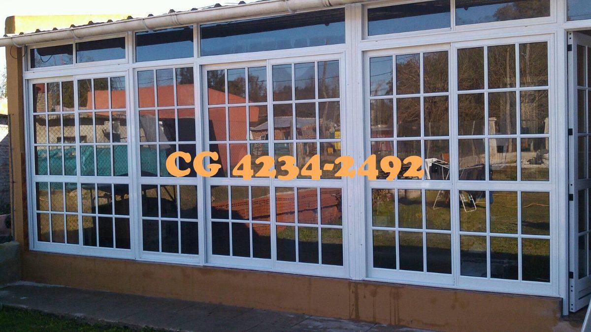 Cerramientos aluminio balcon quincho galeria techos - Cerramientos de aluminio para balcones ...