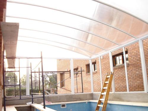 cerramientos aluminio coberturas piletas techos corredizos