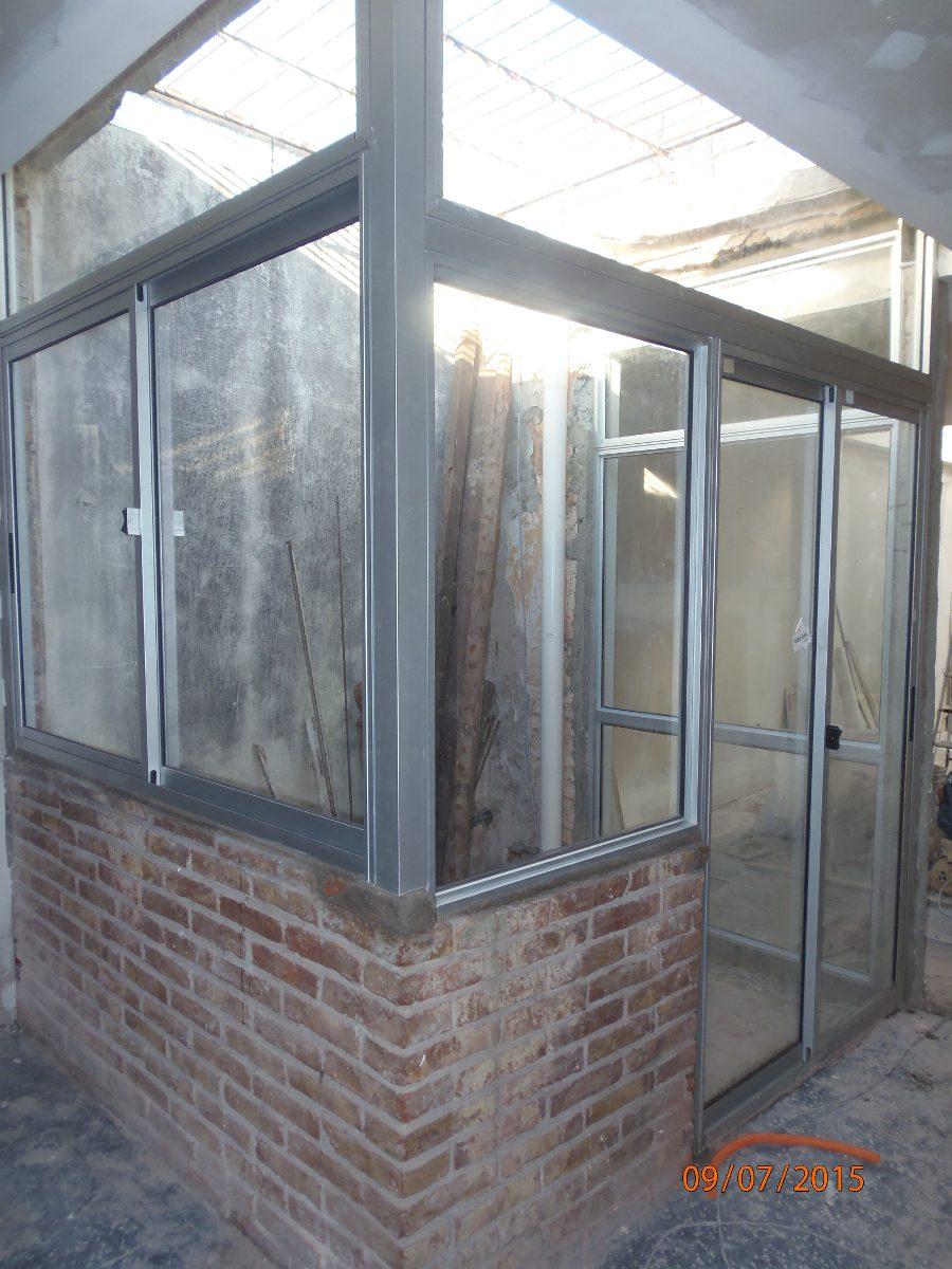 Cerramientos aluminio hierro barbacoas techos escaleras - Cerramientos de escaleras ...