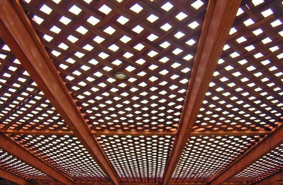 Cerramientos cercas cercos perimetrales madera treillage - Cerramientos de aluminio precio por metro cuadrado ...