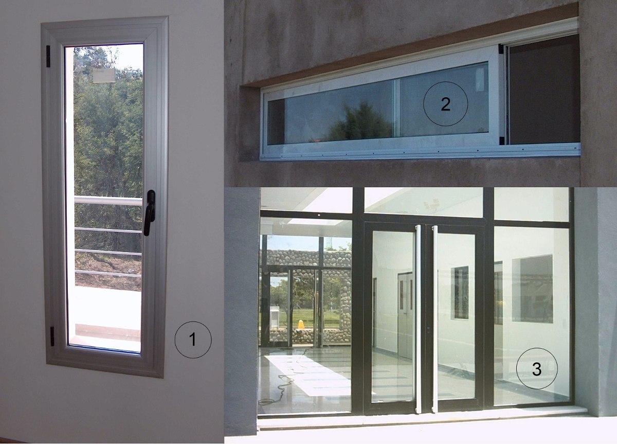Cerramientos de aluminio aberturas de aluminio a medida for Aberturas de aluminio puerta ventana