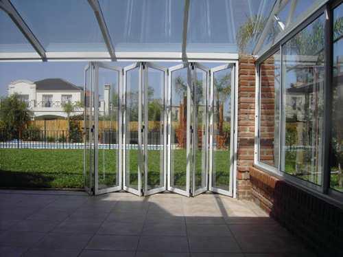 cerramientos de aluminio - ambientes vidriados - techos