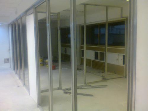 cerramientos de aluminio -divisiones - hogar y oficina