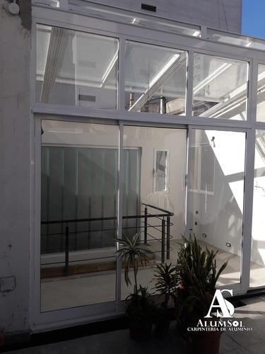 cerramientos de aluminio y techos corredizos