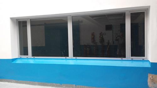 cerramientos de balcones, galerias, quinchos en aluminio