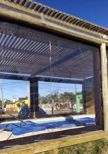 cerramientos de pvc transparente a medida reforzados