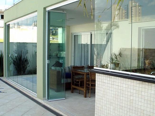 cerramientos de vidrio templado y aluminio balcones