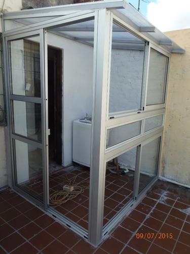 cerramientos en aluminio hierro policarbonatos