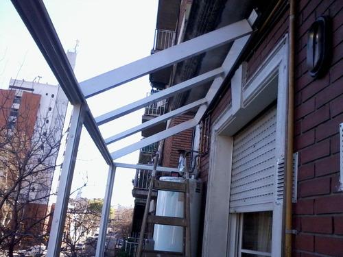 cerramientos en aluminio , techos , ventanas y puertas