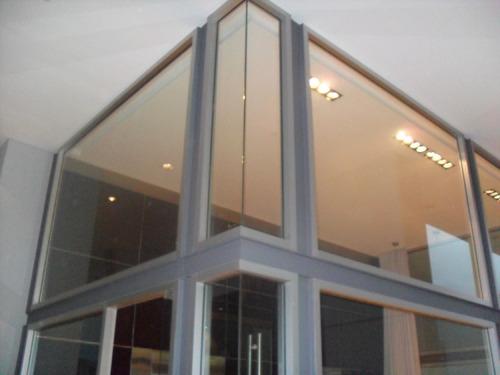 cerramientos en aluminio y vidrio. laminado,templado, dvh