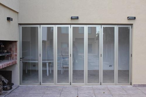 cerramientos en aluminio y vidrio o policarbonato