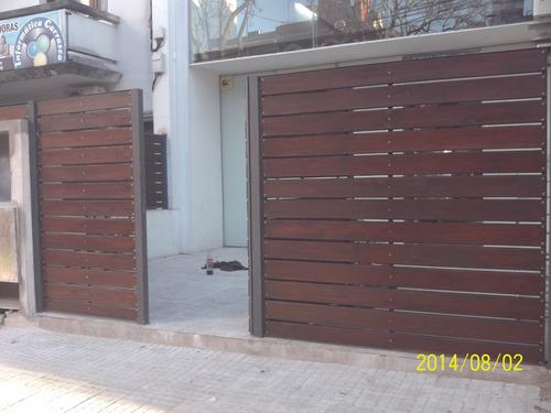 cerramientos en hierro y madera herreria en general