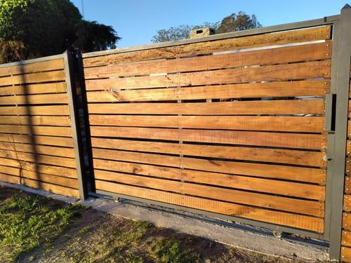 cerramientos en madera y hierro