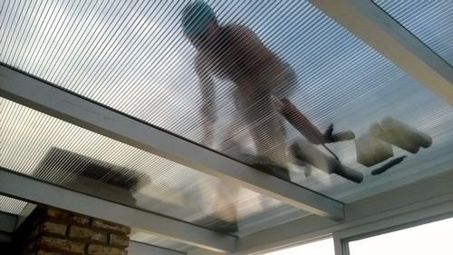cerramientos en policarbonato, doble vidrio o aluminio
