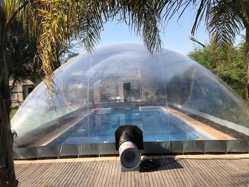 cerramientos para piscinas burbujas de invierno