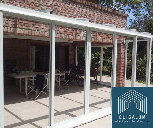 cerramientos ventanas de aluminio - fabricación y colocación
