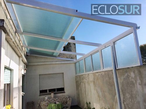 cerramientos y aberturas de aluminio - techos - quinchos