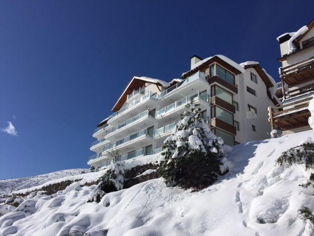 cerro catedral departamento en una planta centro de ski