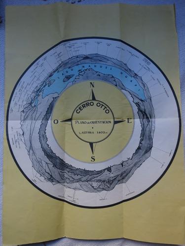 cerro otto parque nacional nahuel huapi bariloche folleto
