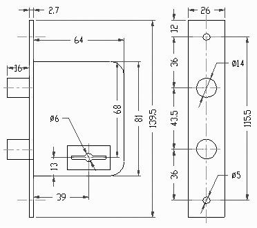 cerrojo acytra 520 (consorcio) frente hierro niquelado