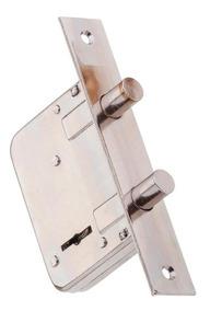 Partes de una cerradura doble paleta
