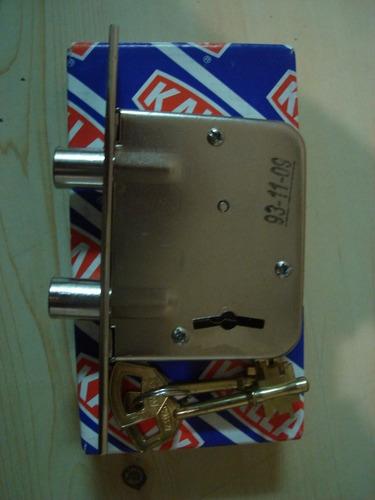 cerrojo de seguridad kallay para puerta departamento y casa