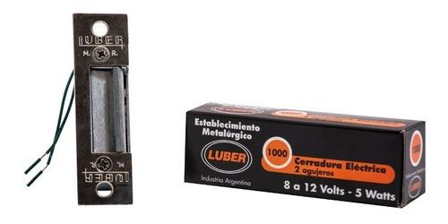 cerrojo eléctrico (portero eléctrico)  luber - electrocom -