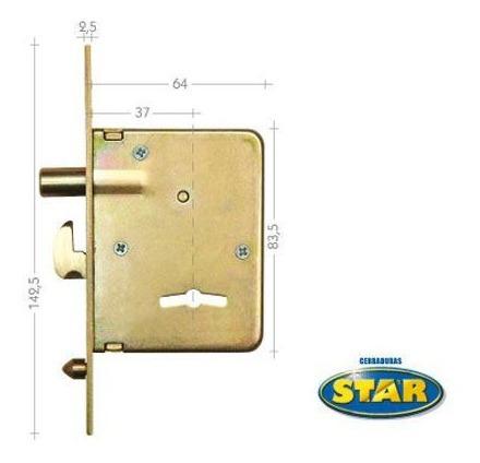 cerrojo star 225hz gancho | abelenda hnos