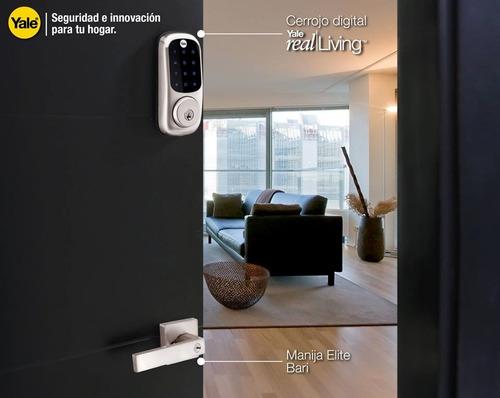 cerrojo/cerradura digital yale yrd226 , pantalla táctil